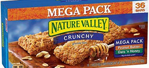 Nature Valley Crunchy Granola Bars Oats 'N Honey