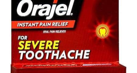 Orajel Severe Toothache Pain Relief Cream