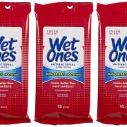 Wet Ones Antibacterial Hand Wipes Travel Pack